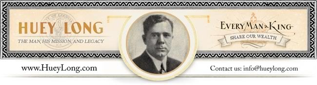 Huey Long print header