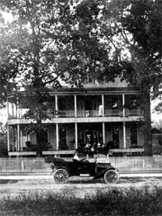 The Long family home in Winnfield, Winn Parish, Louisiana
