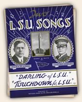 Two LSU Songs - music by Castro Carazo, words by Huey Long