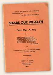 Share Our Wealth pamphlet